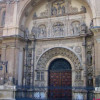 Faade-altarpiece of Santa Engracia Church in Zaragoza